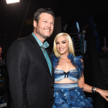 Gwen Stefani surprised the crowd at Blake Shelton's show in Mexico and rocked out