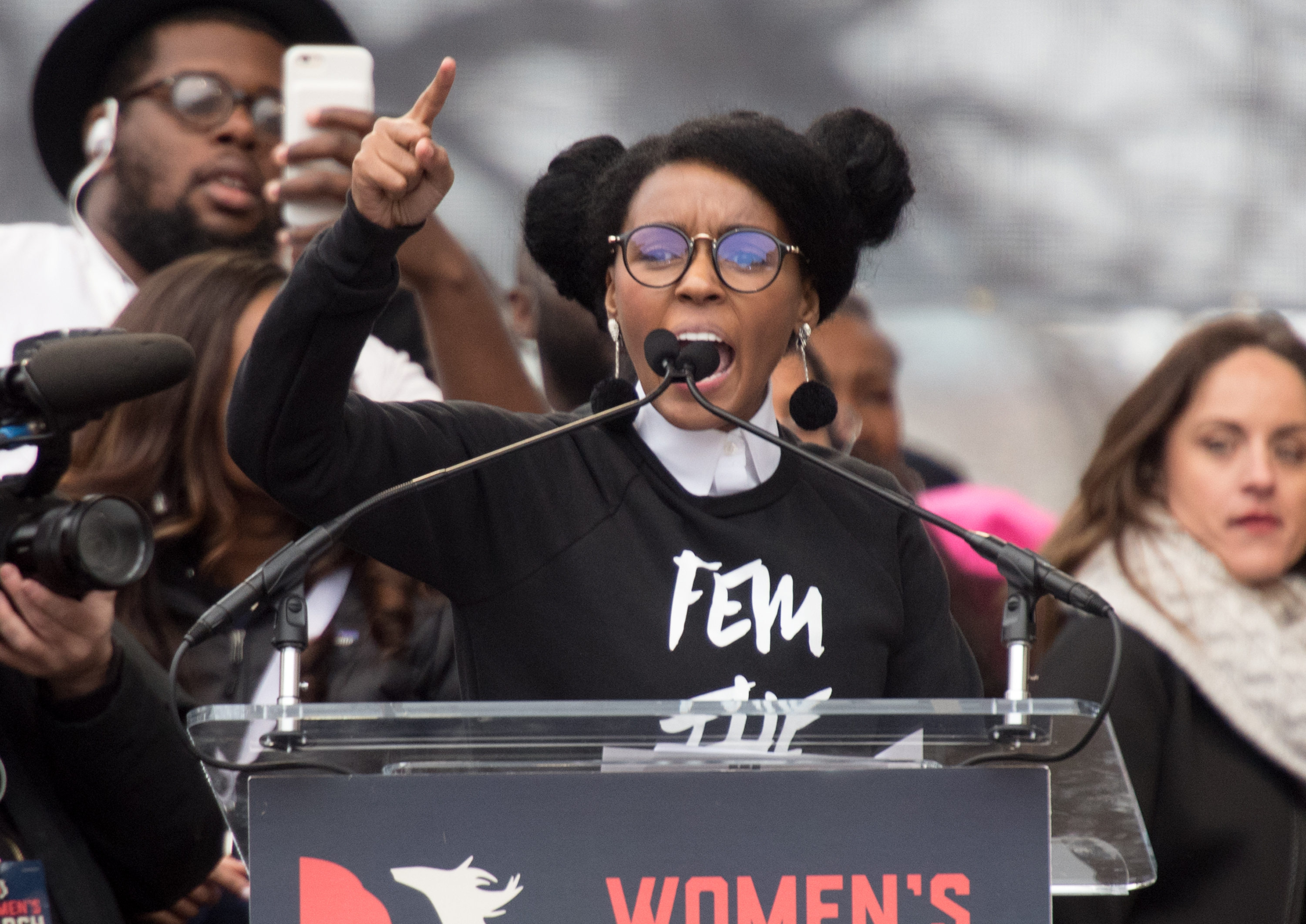 Janelle Monaé's Women's March speech is your required viewing for the day