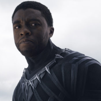 "The first pictures from the ""Black Panther"" set show a crossover character from ""Captain America: Civil War"""
