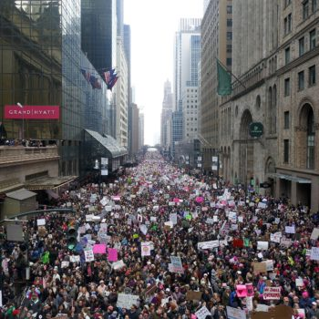 26 pictures of Women's Marches around the world that make it look like every human on earth took to the streets
