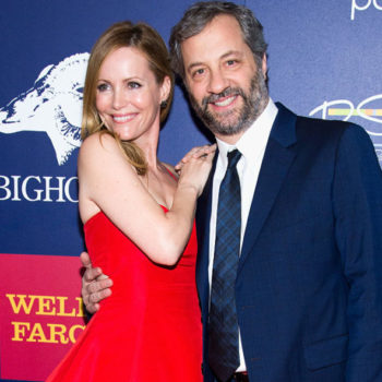 Can we please talk about how adorable Leslie Mann and Judd Apatow are in these red carpet pics from Sundance?