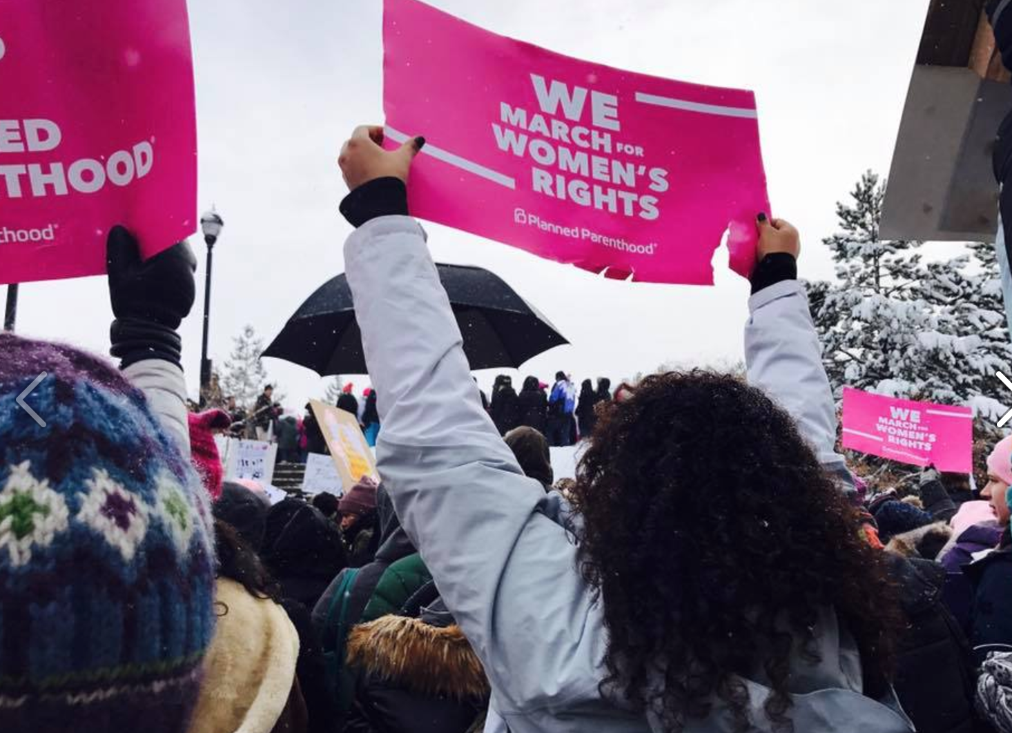 Snowboots, celebs, and civil rights: I marched for gender equality at Sundance Film Festival