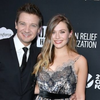 "Elizabeth Olsen shared the wise advice Jeremy Renner gave her on the ""overwhelming"" set of ""Avengers: Age of Ultron"""