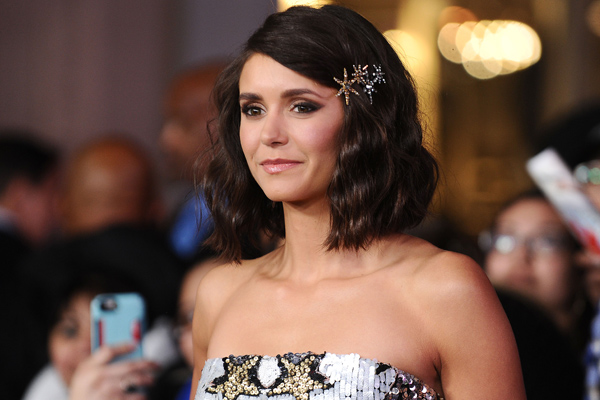 Nina Dobrev's mint mini dress is so detailed it's an actual work of art