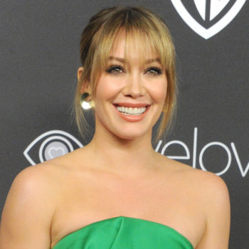 Hilary Duff's gorgeous glasses are all we want in this life
