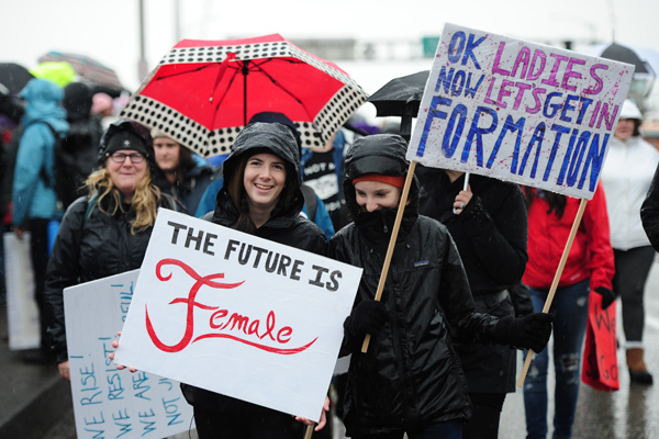 This article in response to women who were aganist the Women's March is going viral for the best reason