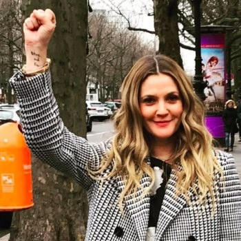 So many celebs posted uplifting pics from the Women's March