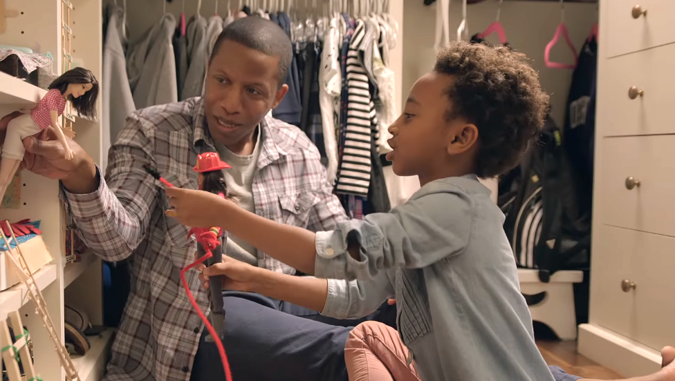 "Mattel's ""Dads Who Play Barbie"" campaign is a step toward breaking gender roles"