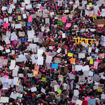 The Women's March on Washington was a powerful reminder that those of us who have been complacent need to show up