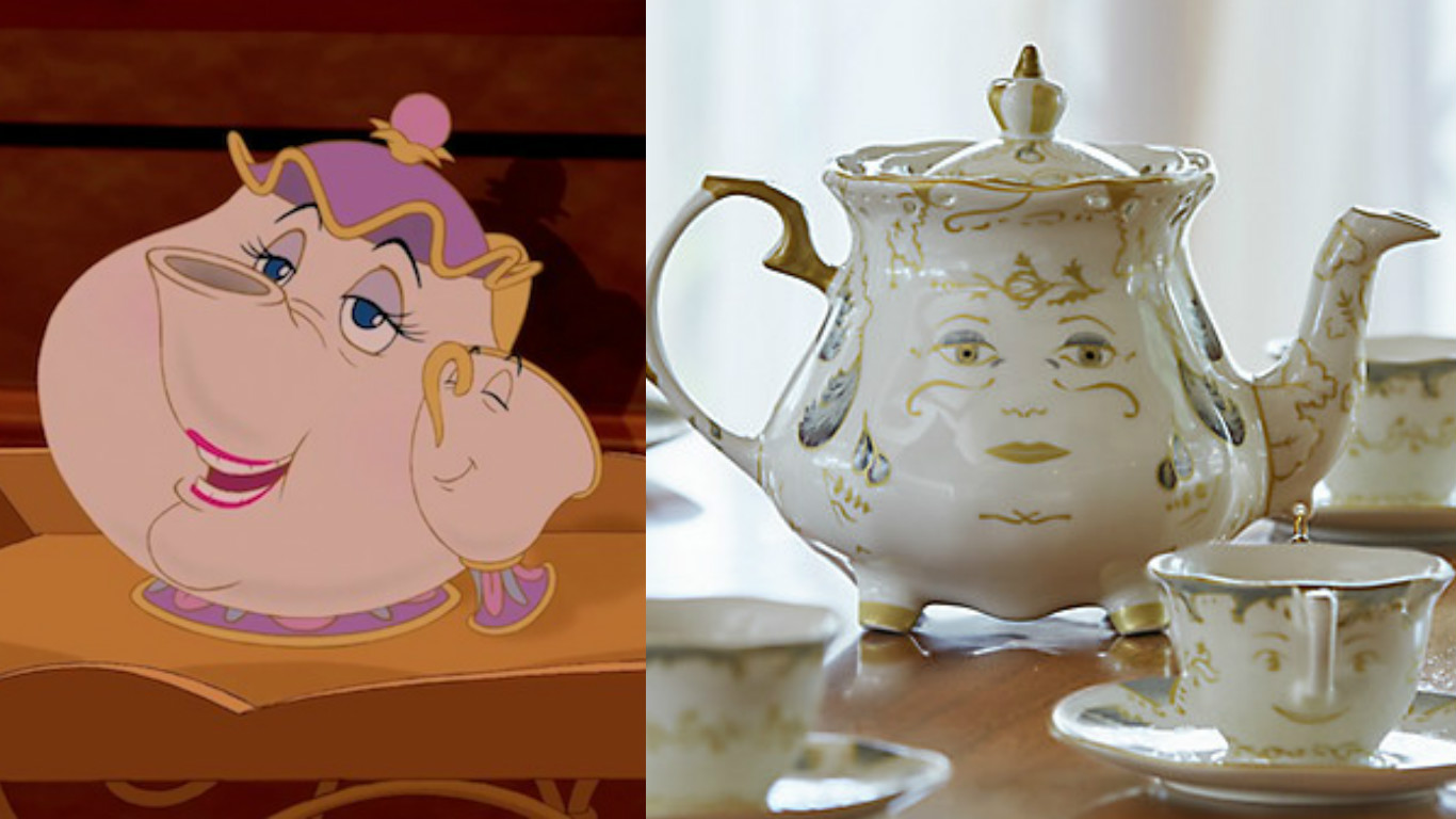 "Just buy this ""Beauty and the Beast"" tea set or you will regret it for the rest of your life"