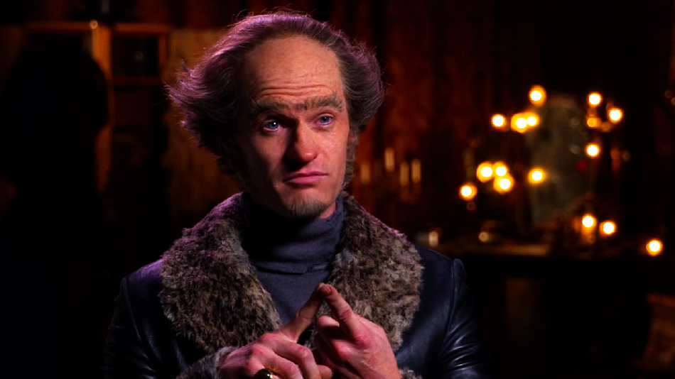 Neil Patrick Harris gave some acting advice as Count Olaf, and we're all ears