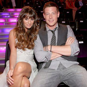 This throwback photo of Lea Michele and Cory Monteith is so bittersweet