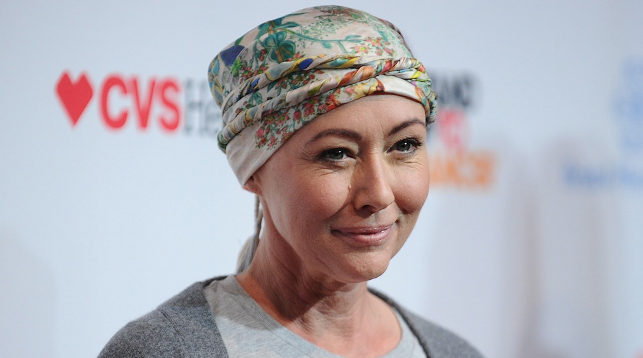 Shannen Doherty is on vacation as she awaits her cancer treatment results — and we're sending good vibes her way