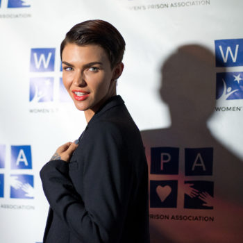 Ruby Rose looks like a dystopian warrior princess at her latest red carpet