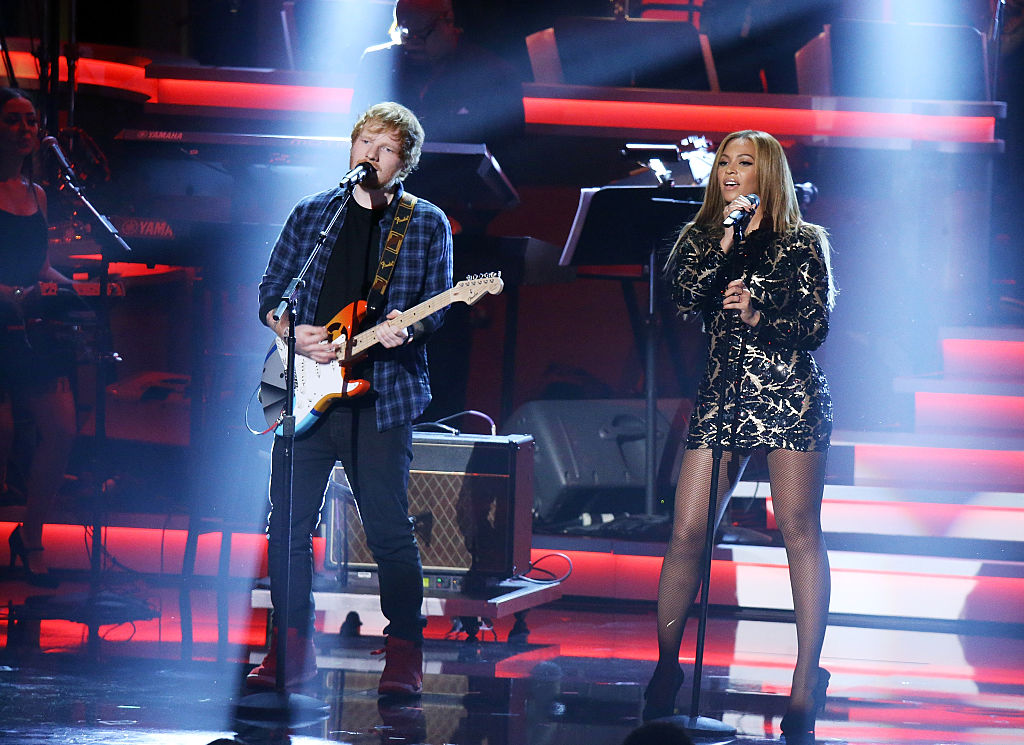 Ed Sheeran wants to record with Beyoncé, and this dreamy collaboration makes so much sense