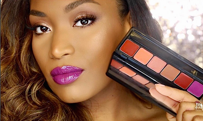 Alert: E.L.F. Cosmetics and blogger Iris Beilin's dreamy lip palette collabo comes out out today