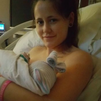 """Teen Mom's"" Jenelle Evans just gave birth to a baby girl!"