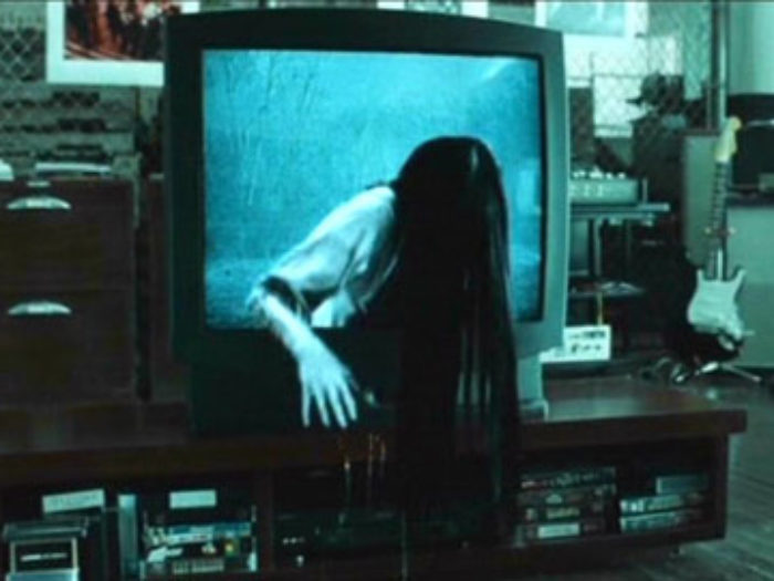 "After you watch this prank with Samara from ""The Ring,"" you'll never want to shop for a TV again"