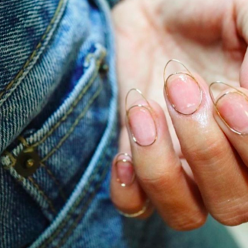 This wire nail art trend straddles the line between super cool and super creepy
