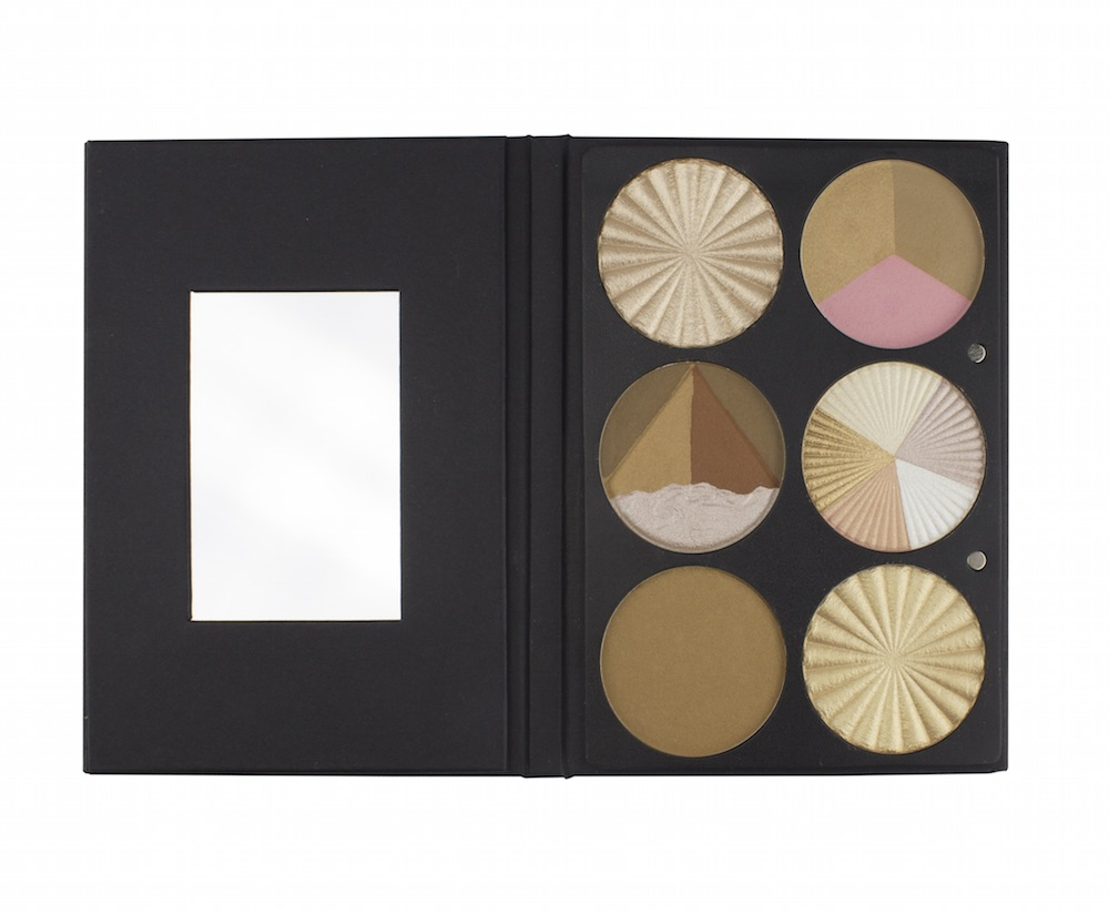 Ofra Cosmetics came out with a six-pan highlighter palette, so you can always have that J.Lo glow