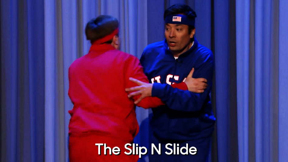 "The ""Dice Dance Off"" between Mike Myers and Jimmy Fallon will truly energize your morning"