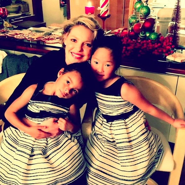 Katherine Heigl revealed the way she told her daughters she was pregnant, and, melt
