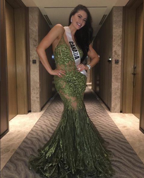 Miss Universe Canada wrote a powerful note in response to people who shamed her for gaining weight