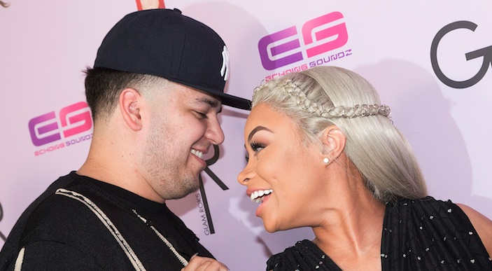 Rob Kardashian posted a video compilation to celebrate one year with Blac Chyna, and it's trés romantic