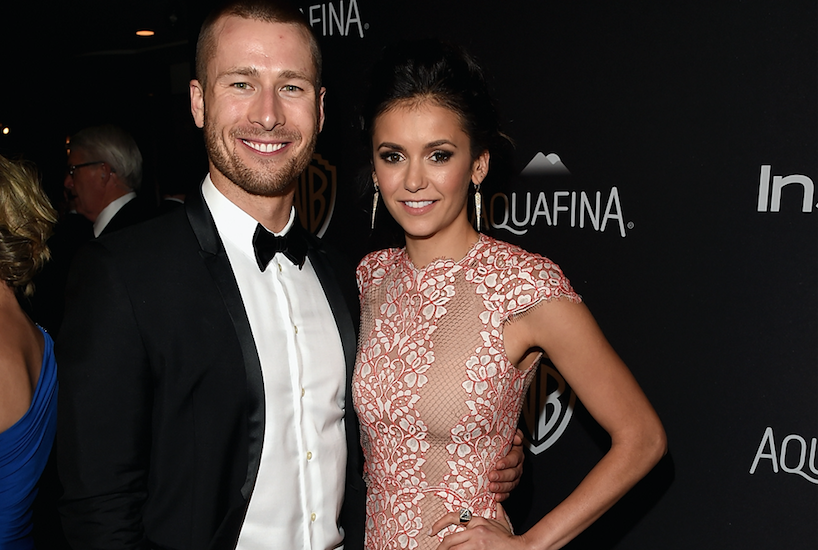 "Is Nina Dobrev dating Glen Powell from ""Scream Queens?"" Because we ship it"