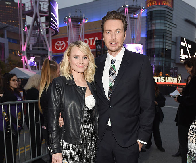 Best husband ever: Dax Shepard acted as Kristen Bell's wingman when she met this actor