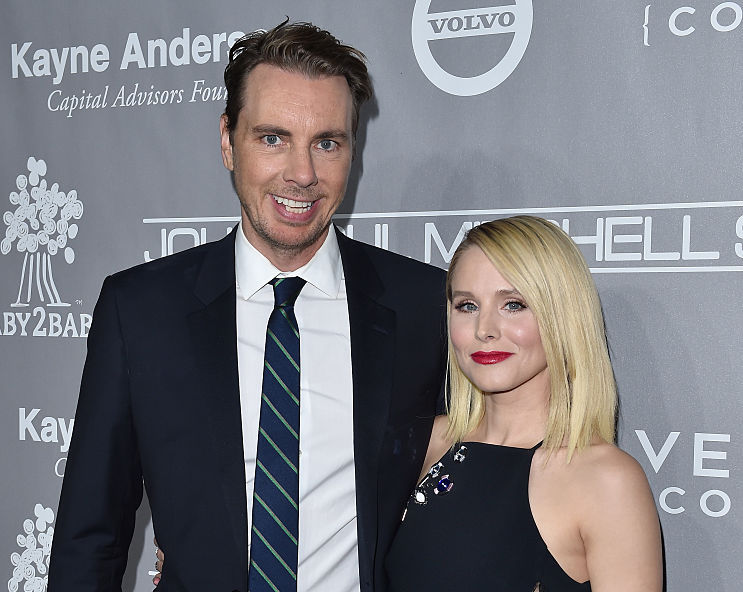 Kristen Bell just released a never-before-seen photo from her wedding