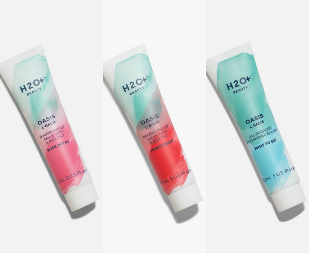 H2O+ Beauty's new lip balms and gels are perfect for all your makeout sessions