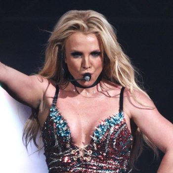 Britney Spears just shared a rare bathroom selfie, and woah, abs