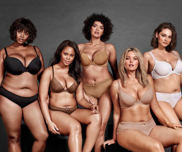 ​Torrid launched a new campaign called #TheseCurves, and featured real women with different body types