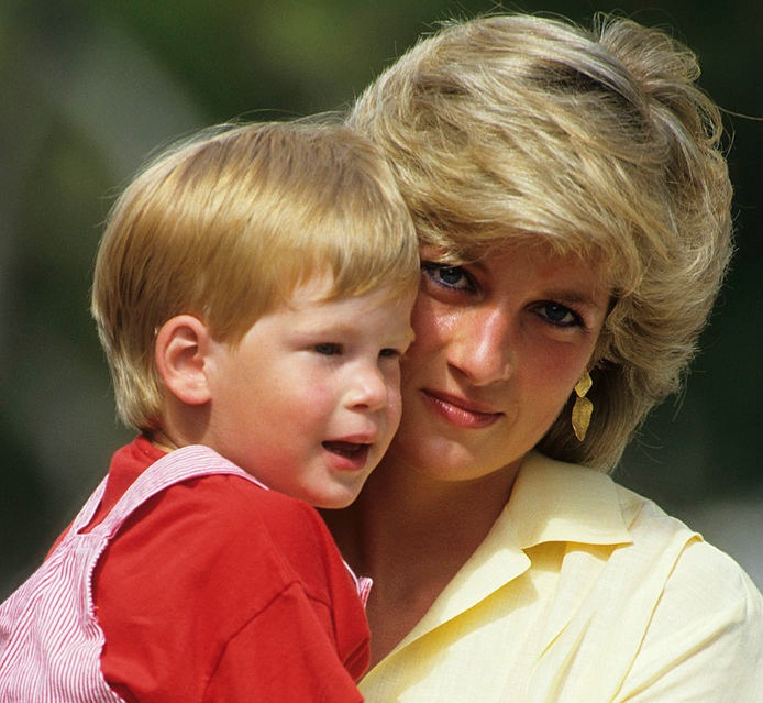 Prince Harry just recreated a famous photo of his mom, Princess Diana, and now we're melting