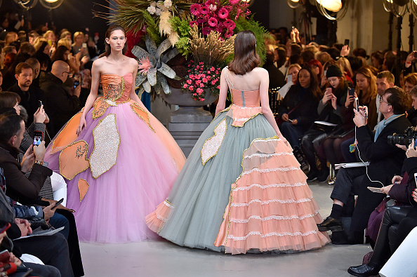 Viktor & Rolf recycled old gowns into brand new couture creations, basically the luxe version of hand-me-downs