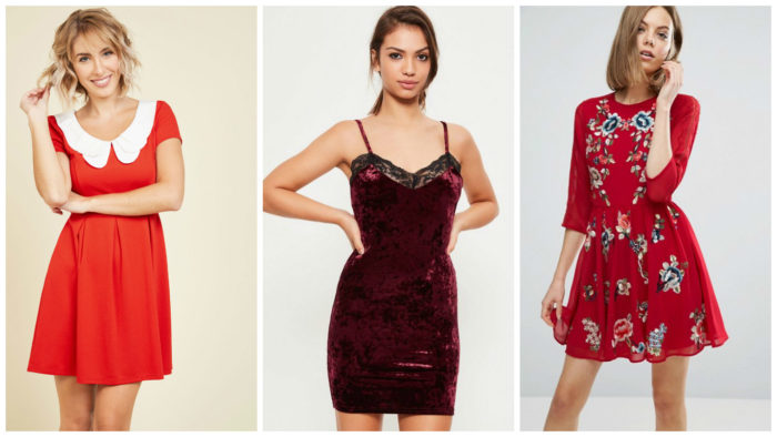 10 perfect little red dresses for Valentine's Day this year