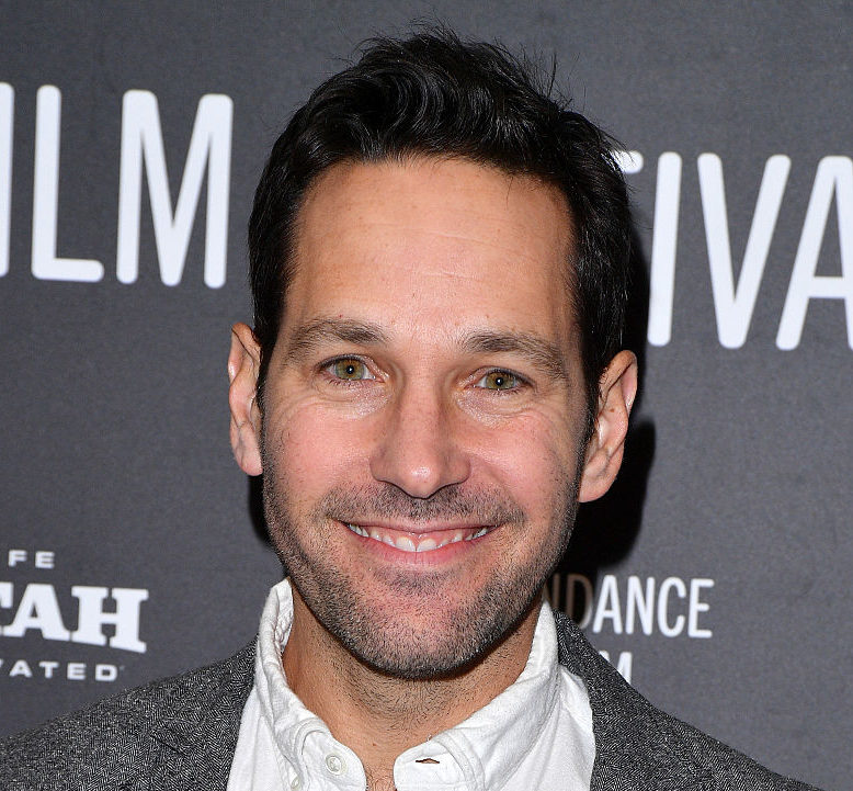 Paul Rudd and his wife walked the red carpet together for one of the first times