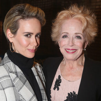 Holland Taylor gushed about Sarah Paulson, and it's making us believe in love again