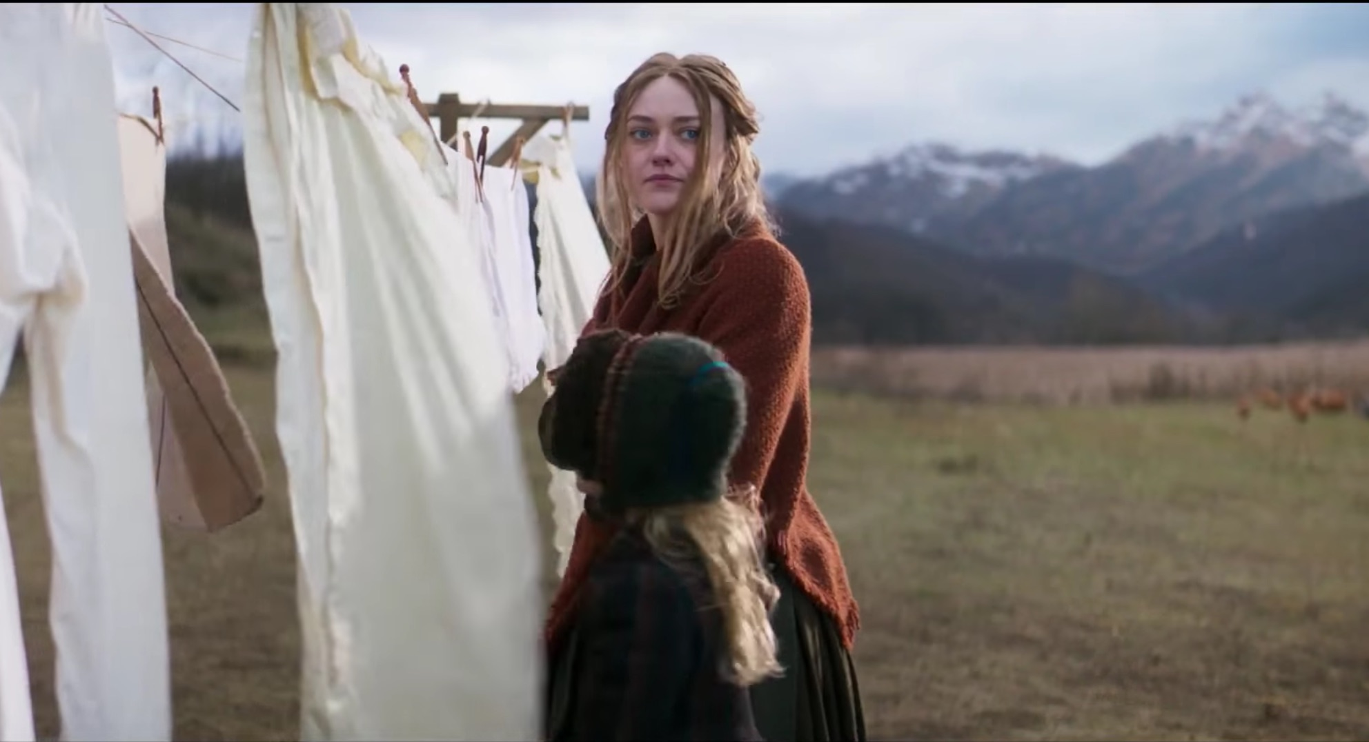 "Dakota Fanning's terrifying new movie about witches has not one, but TWO of our favorite ""GoT"" actors"