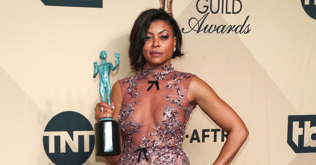 Taraji P. Henson gave a timely speech about unity during last night's Screen Actors Guild Awards