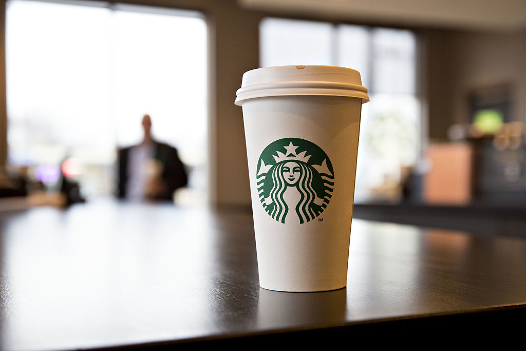 The ordering system at Starbucks just got a futuristic makeover
