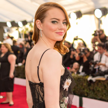 Emma Stone's brother Spencer Stone walked the red carpet with her and they're totally sibling goals