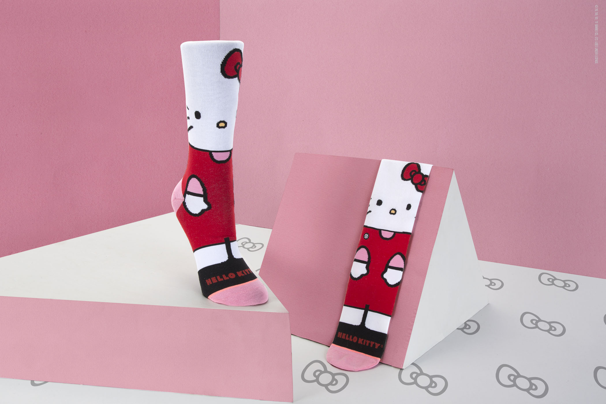 The Stance and Sanrio collaboration will knock your socks off