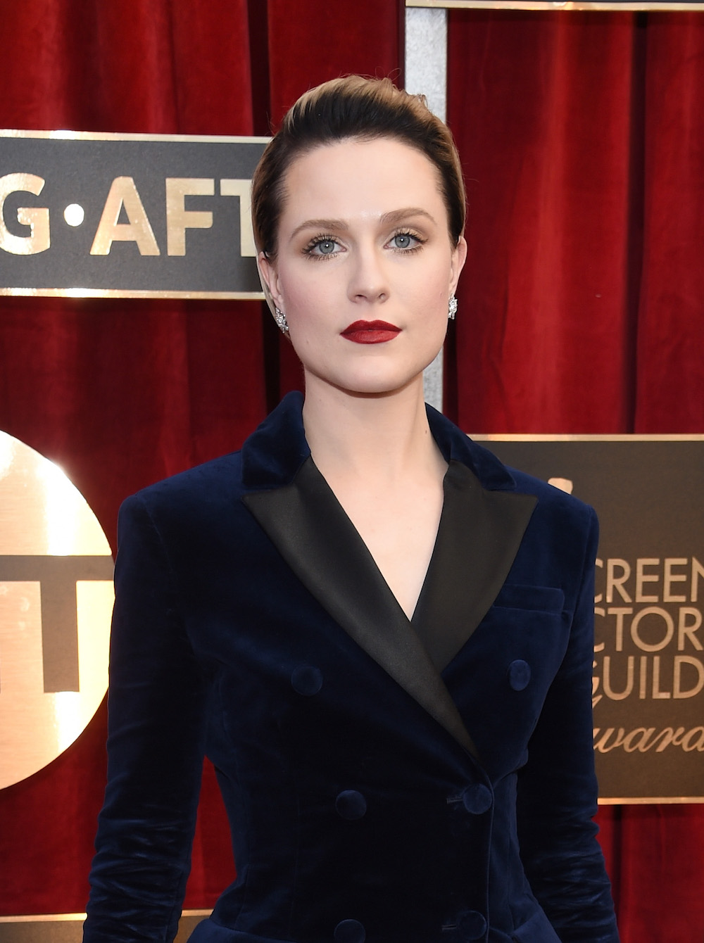 Evan Rachel Wood's makeup artist used one of our all-time favorite CC creams for her SAG beauty look