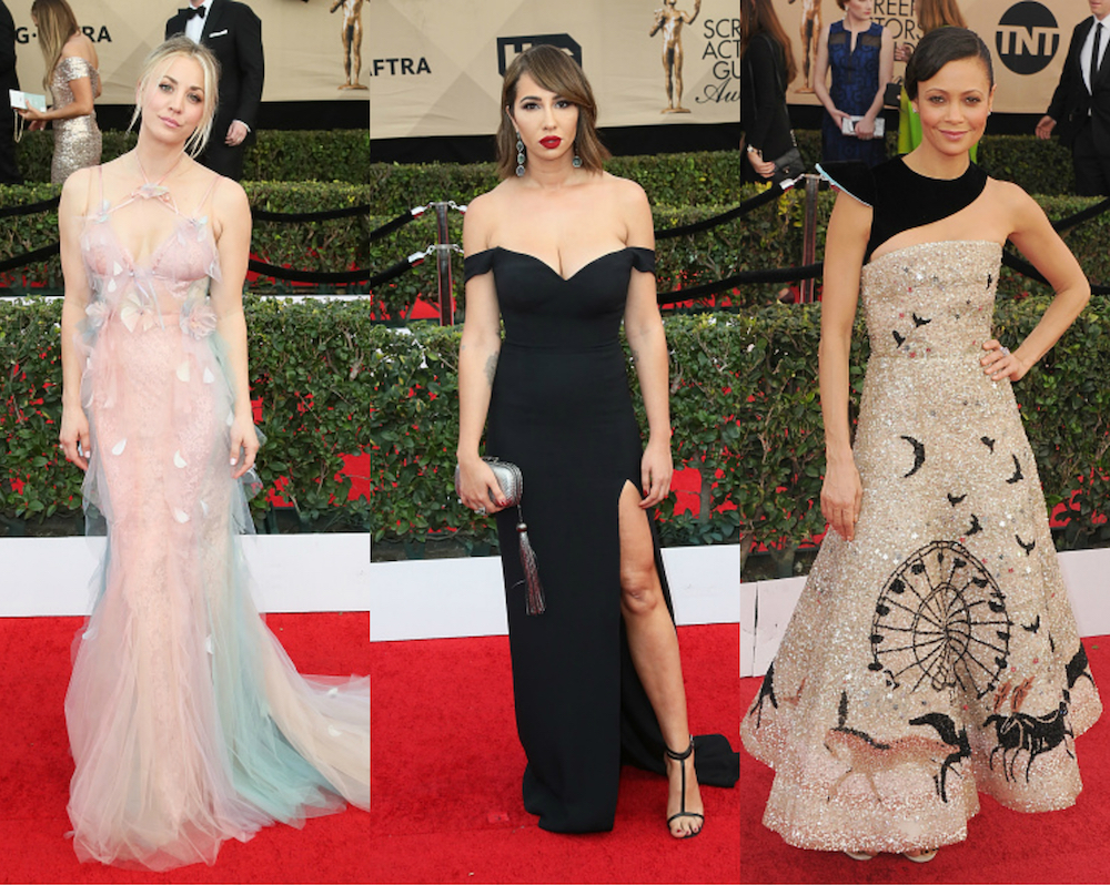 Here are 25 of the most stylish red carpet moments of the SAG Awards