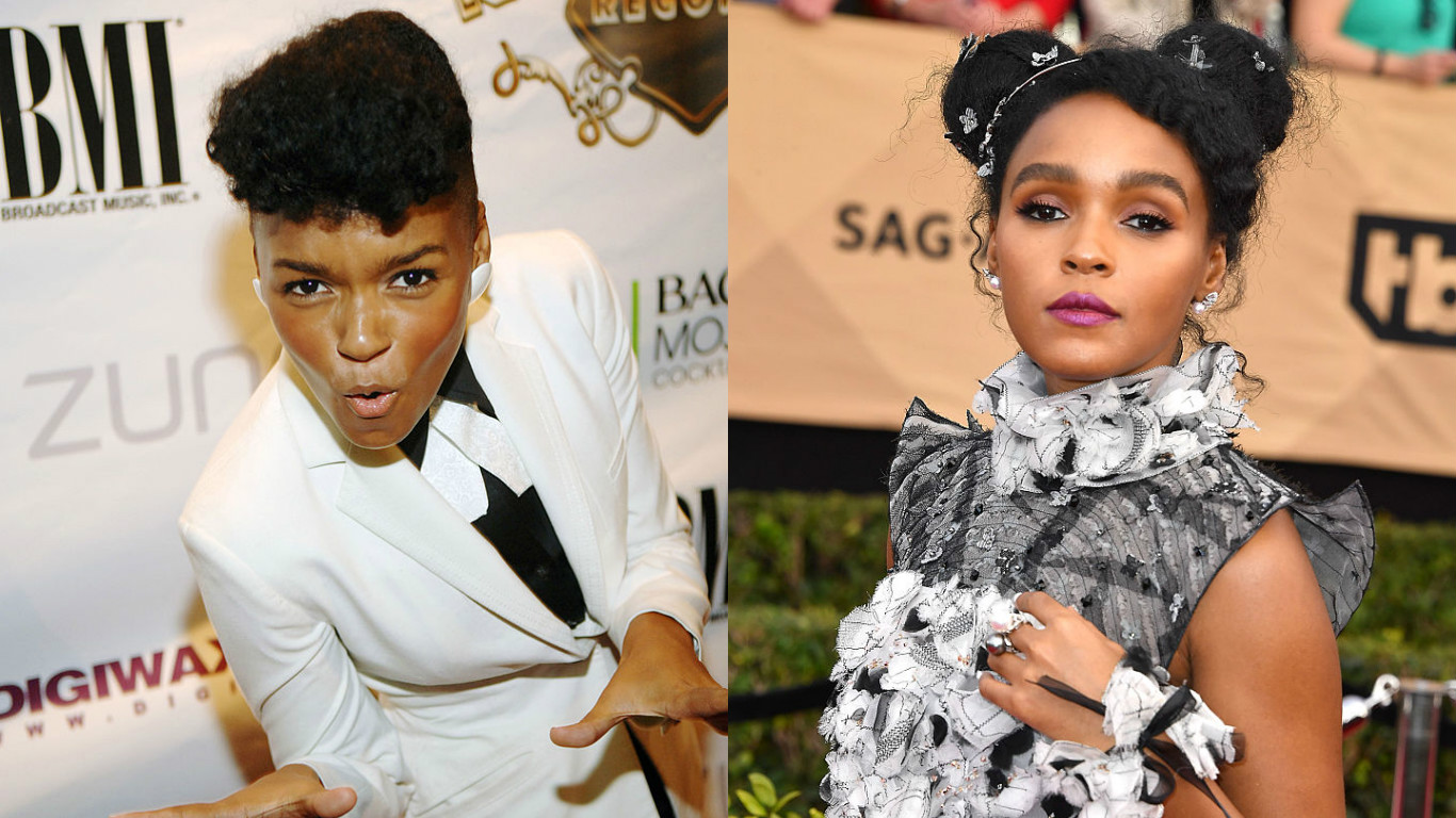 Remember when Janelle Monáe used to only wear suits and was a total badass singer?