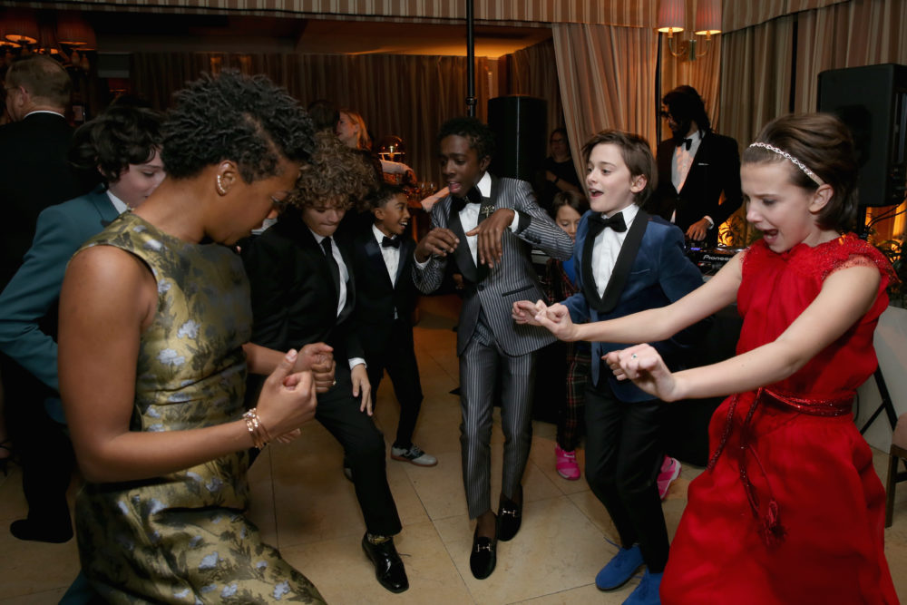 "The ""Stranger Things,"" ""Modern Family,"" and ""Black-ish"" kids had an epic dance party that we all definitely missed"