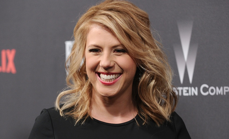 """Jodie Sweetin got seriously injured doing a """"mom stunt,"""" and we're wishing her the speediest of recoveries"""