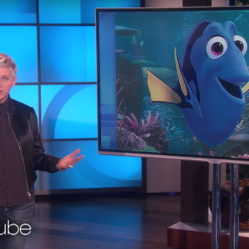 "Ellen DeGeneres used the plot of ""Finding Dory"" to simply and beautifully explain why the Muslim ban is wrong"